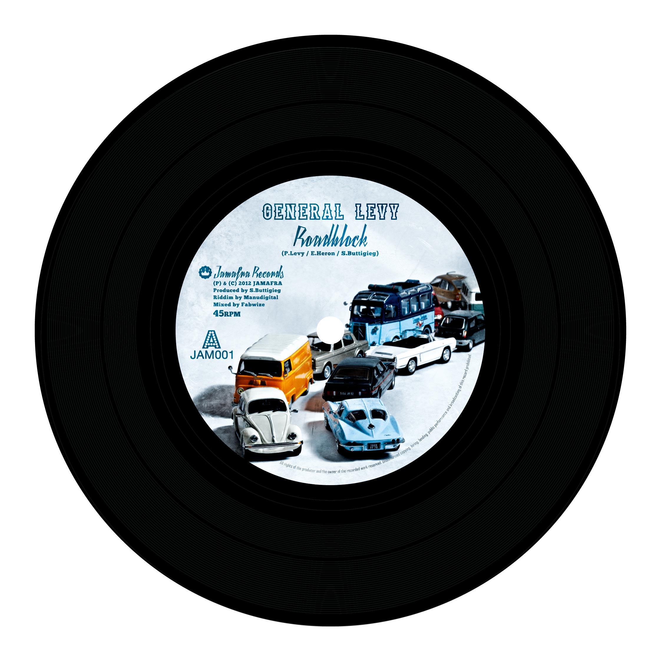 General Levy : Roadblock (Jamafra Records)