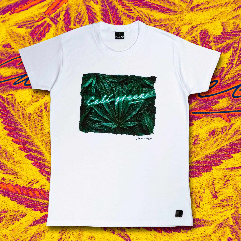 Tee-Shirt JAMAFRA Cali Green