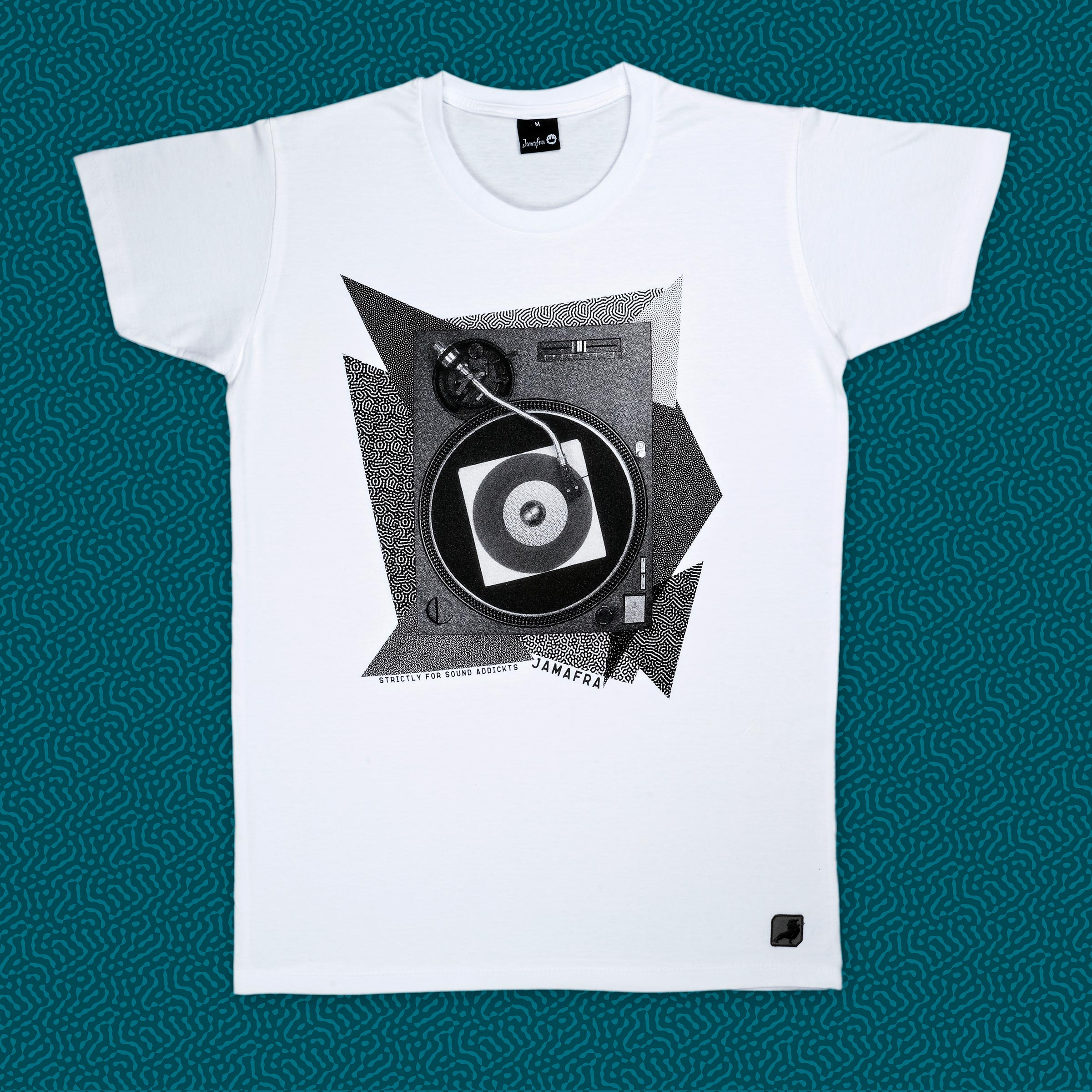 Tee-Shirt Pattern Turntable [white]
