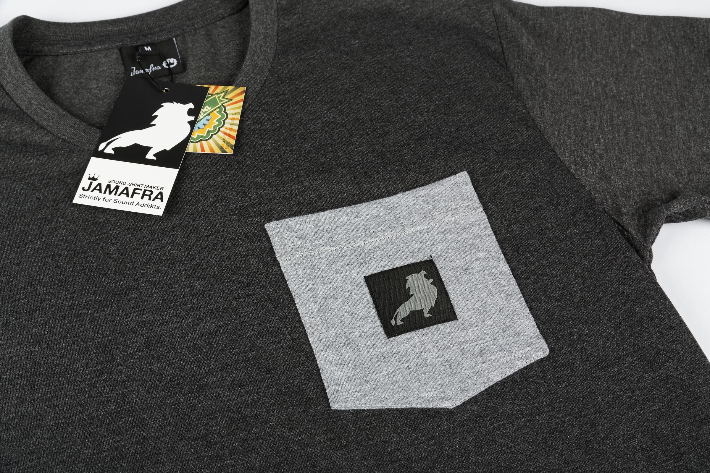 Nouveau tee-shirt Jamafra Lion Pocket