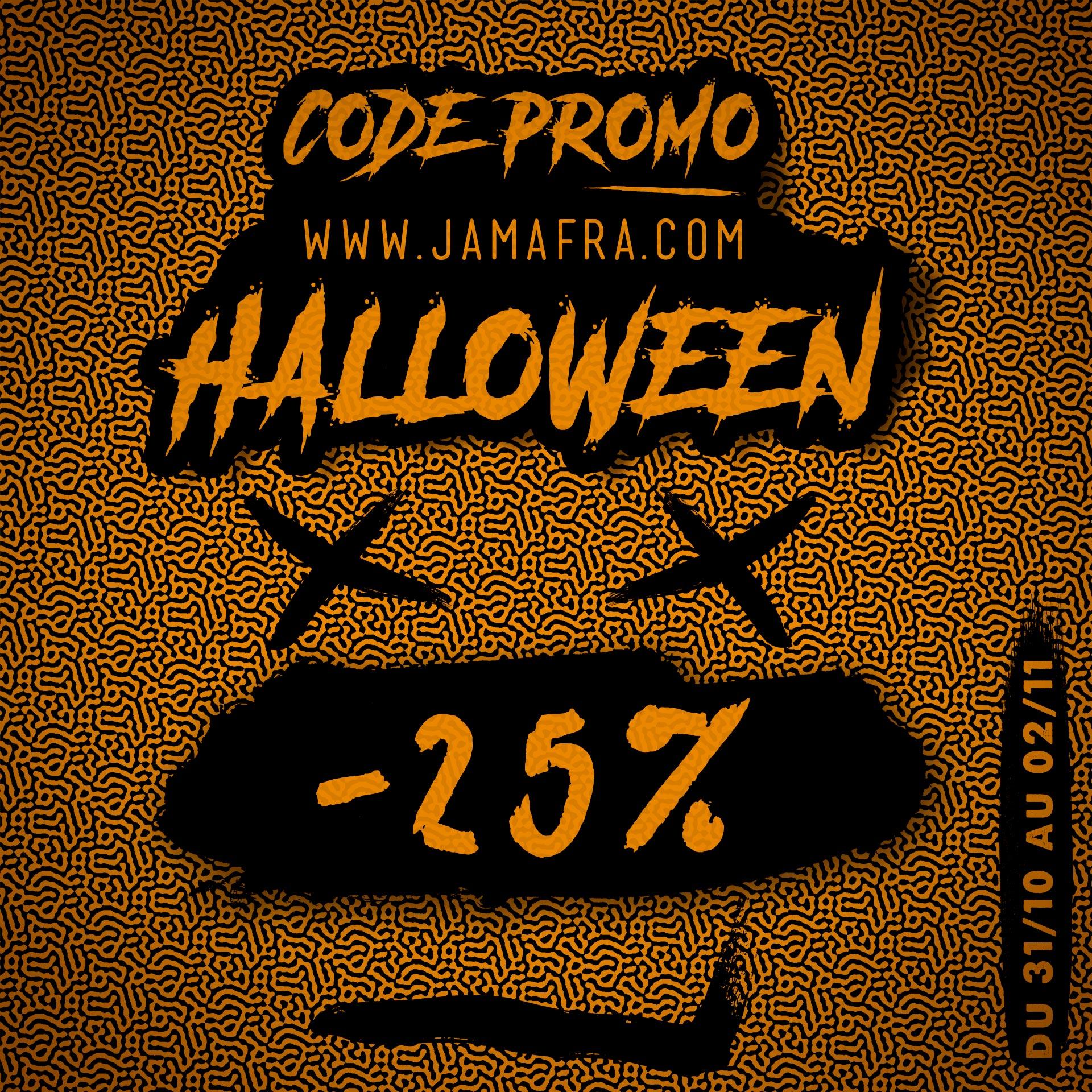 Code Promo Jamafra HALLOWEEN