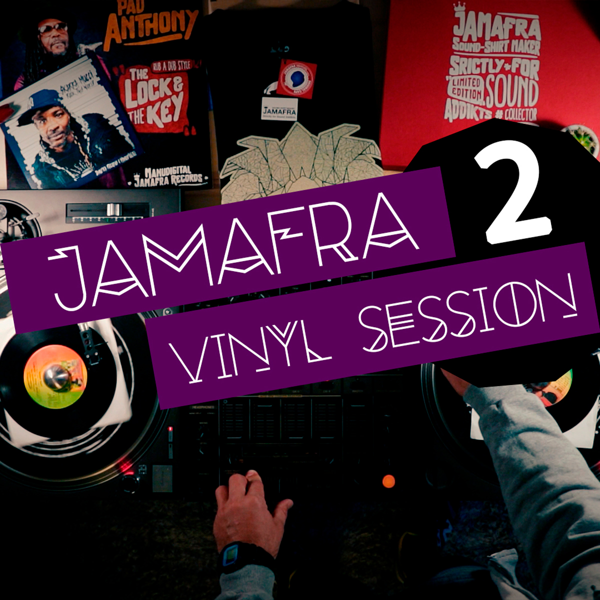 LIVE MIX : Jamafra Vinyl Session n°2
