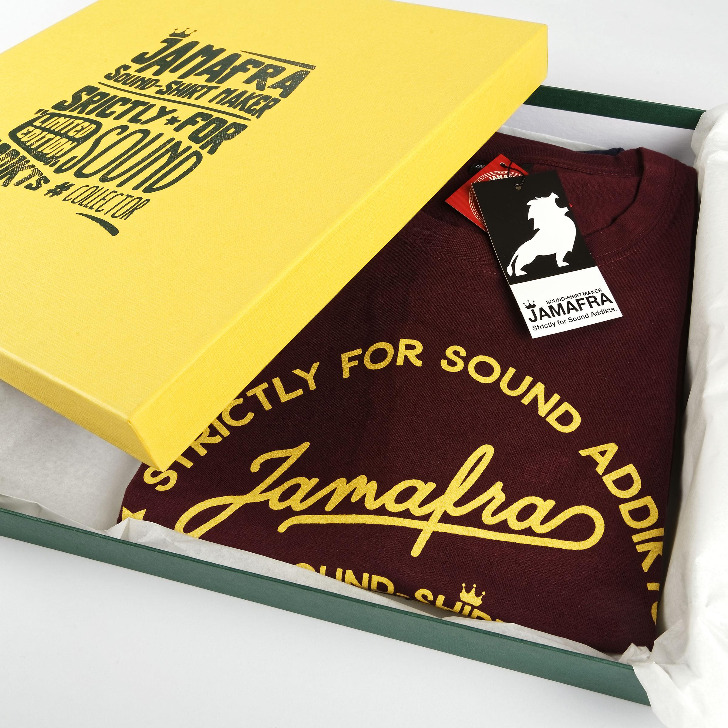 Jamafra Pack LIMITED 2 TEE + 2 VINYLS